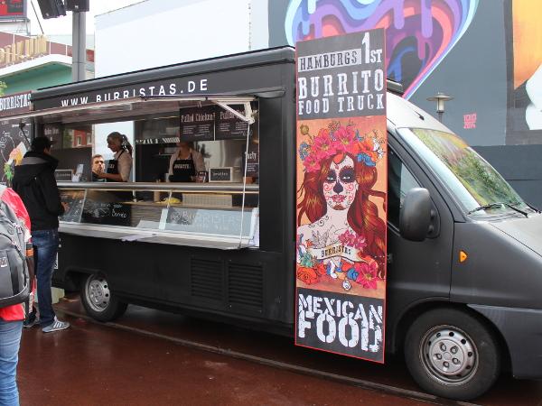 Food Truck festival Burristas
