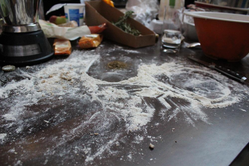 Putzen auf dem Foodbloggercamp